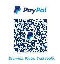 Payer vos achats en scannant le QRCode PayPal